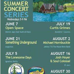 Evergreen Lake Summer Concert Schedule