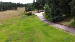 Paved Cart Path to the Second Guest Home